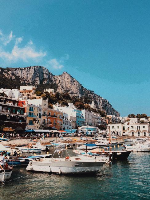 Porto isola di Capri