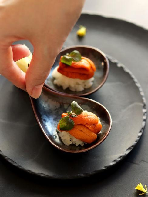monoporzioni pietanze giapponesi