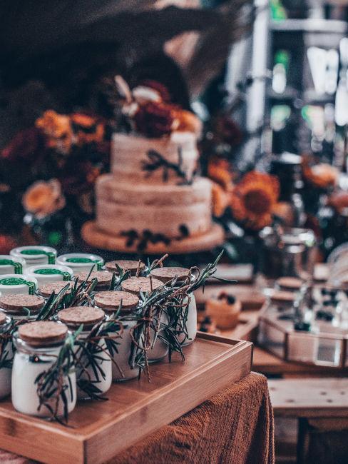 buffet dolci matrimonio autunnle