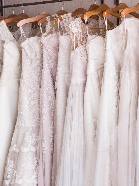 selezioni abiti da sposa