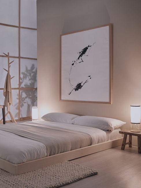 futon giapponese per camera da letto