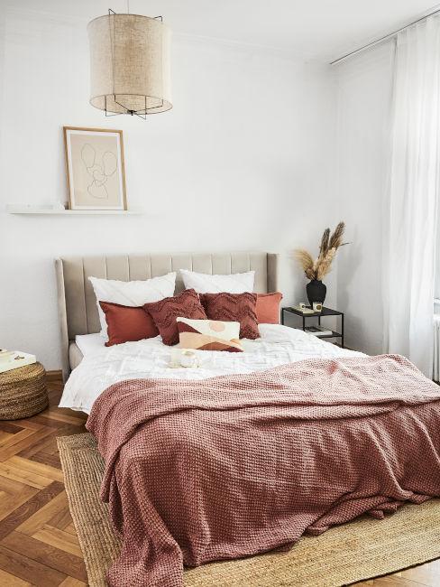 camera da letto in stile orientale