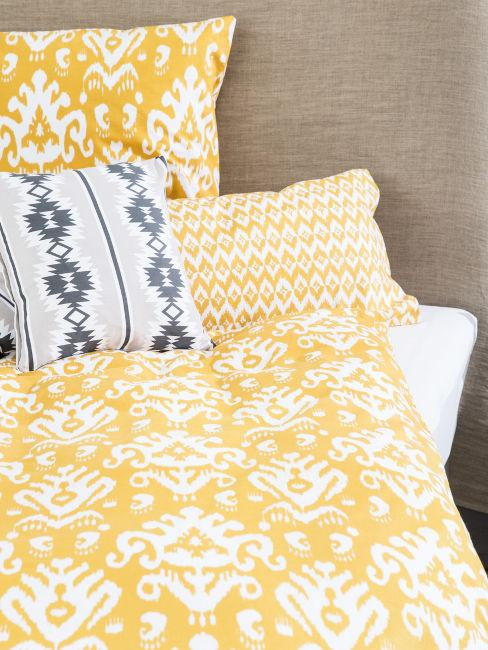 tessili letto in stile indiano