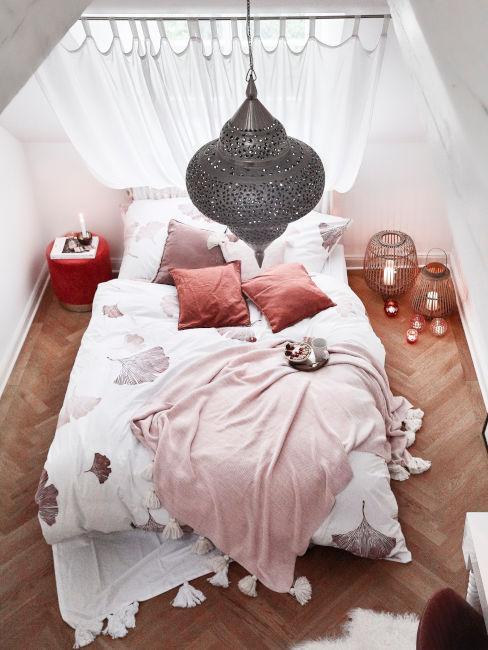 camera da letto etnica