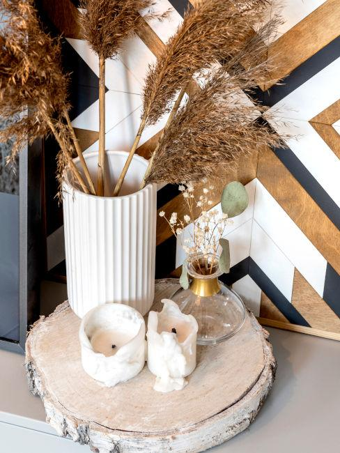 elementi decorativi bagno in stile zen