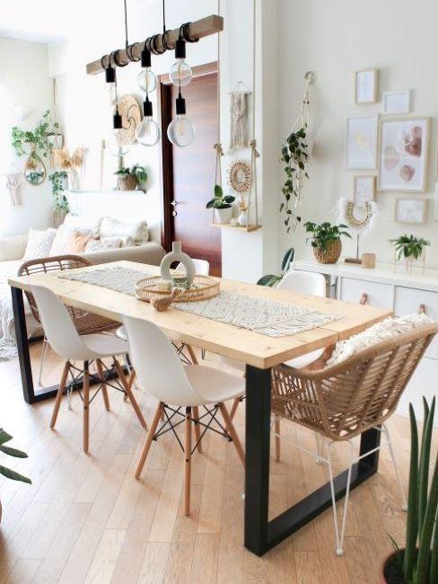 the white honey home sala da pranzo