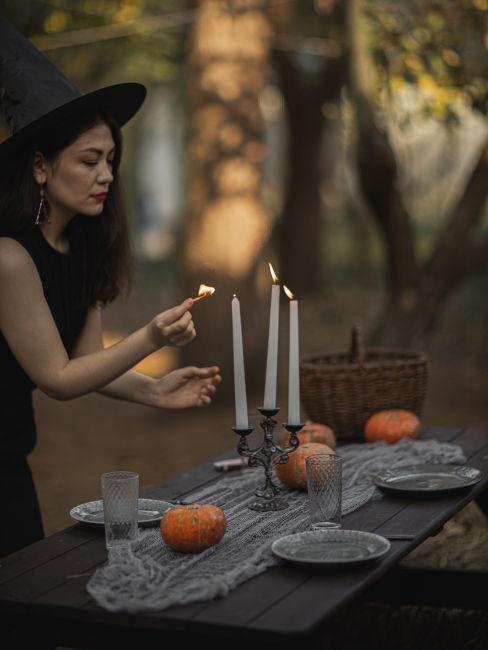 cena a tema halloween