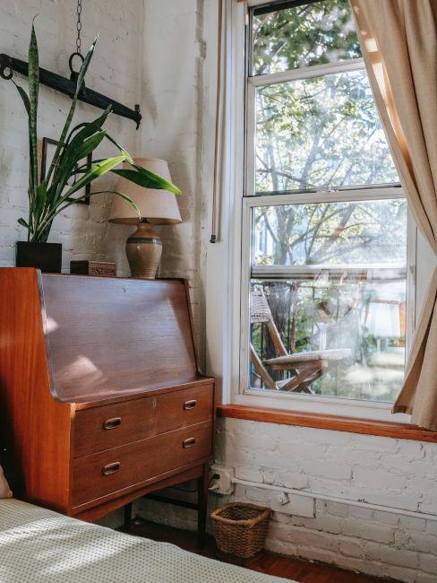 mobile vintage per camera da letto