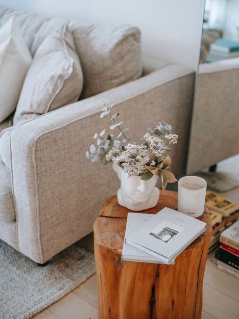 tavolino basso per soggiorno in legno