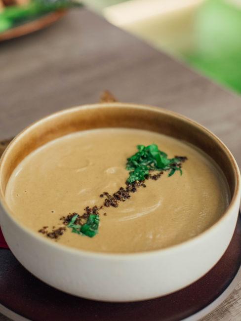 Zuppa di patate e castagne