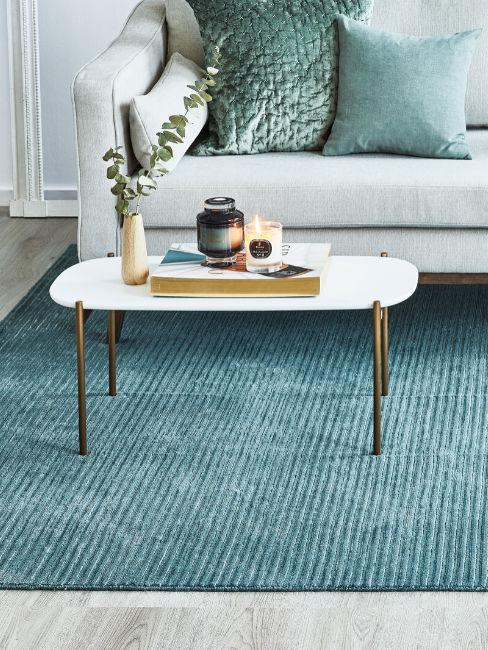 tappeto turchese