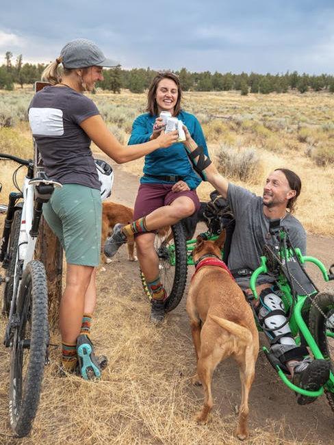 Viaggio in bici tra amici