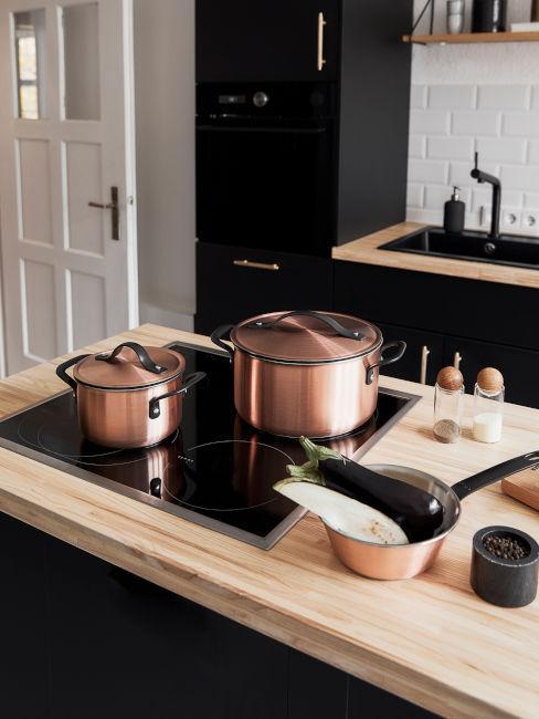 pentole e utensili cucina moderna