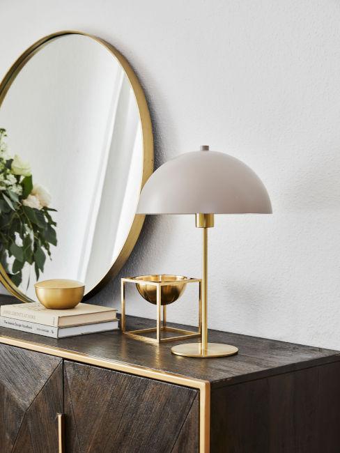 oggetti decorativi color oro