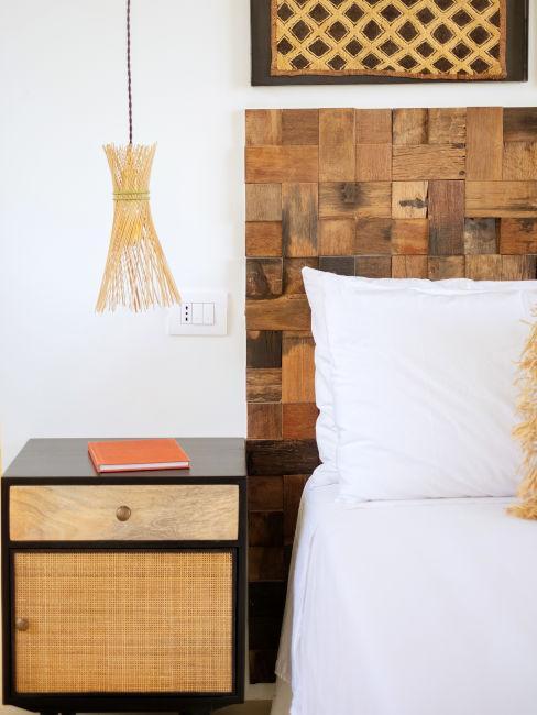 Camera da letto stile africano