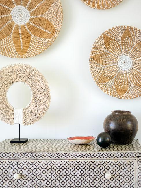 Decorazioni in stile africano