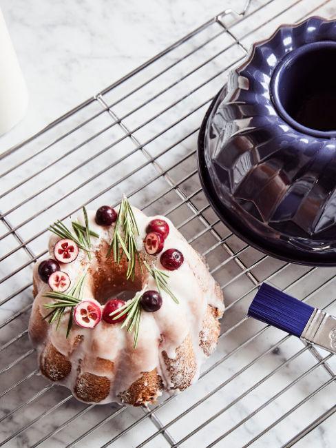 Torta decorata con glassa
