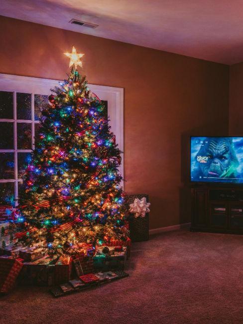 albero di natale e film di natale