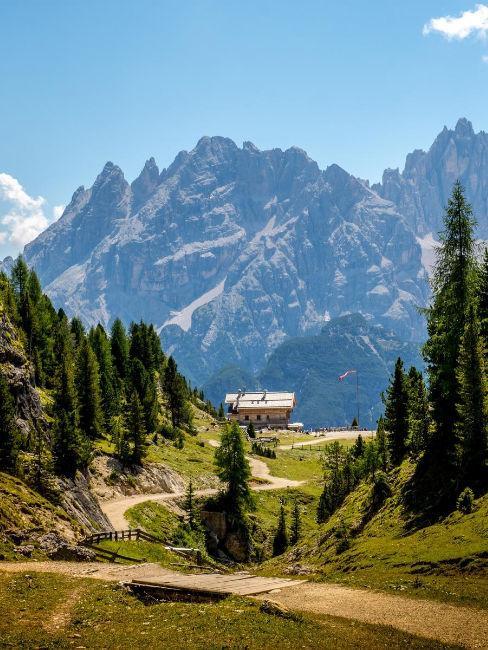 vacanze in montagna panorama