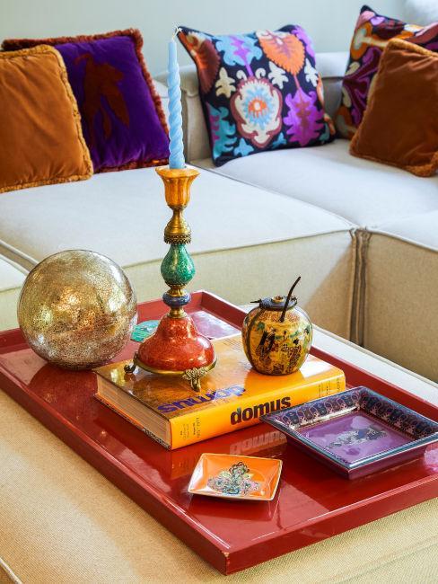 Decorazioni colorate per il soggiorno