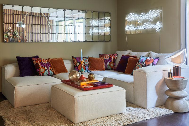 Restyling soggiorno Alice Etro