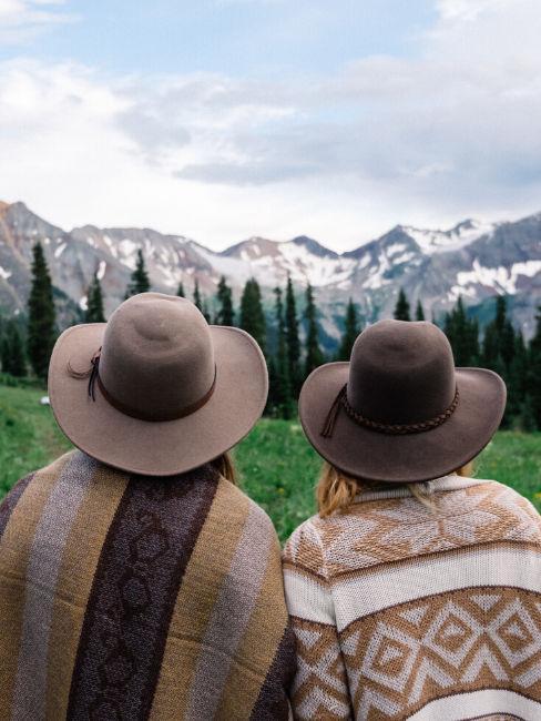 Viaggio con amica in montagna
