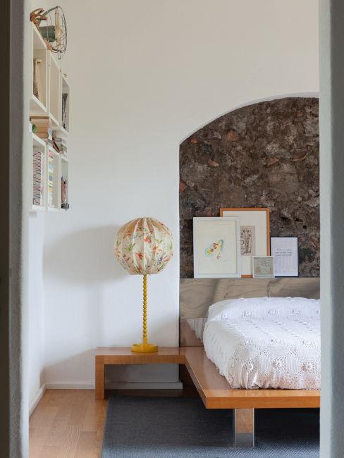 Camera da letto classica moderna
