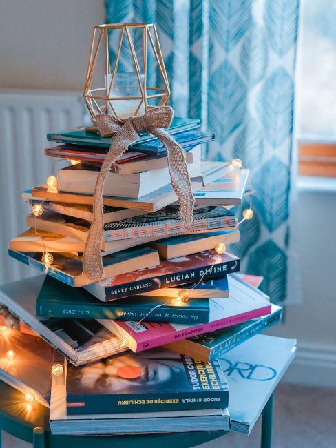 Albero di natale libri