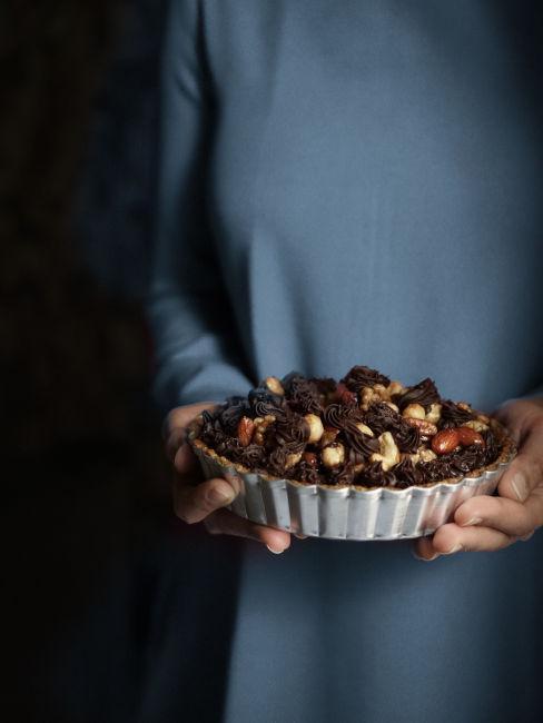 Croccante alle mandorle e cioccolato