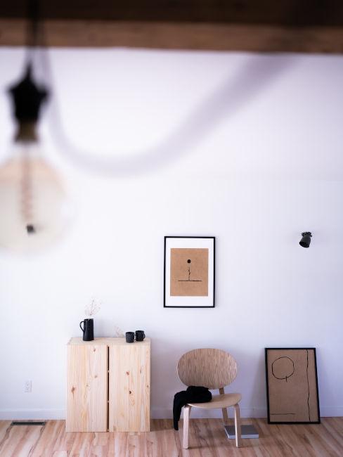 Mobili in legno di acero
