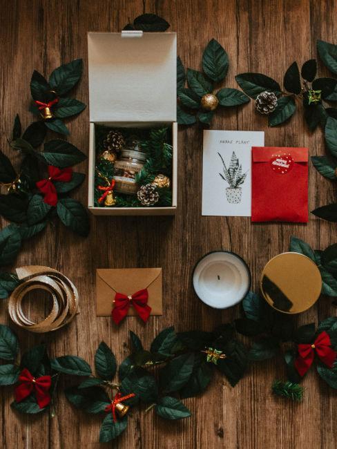 Cesto natalizio fai da te