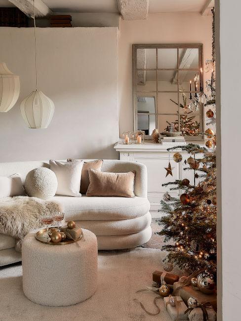 Soggiorno cozy per Natale