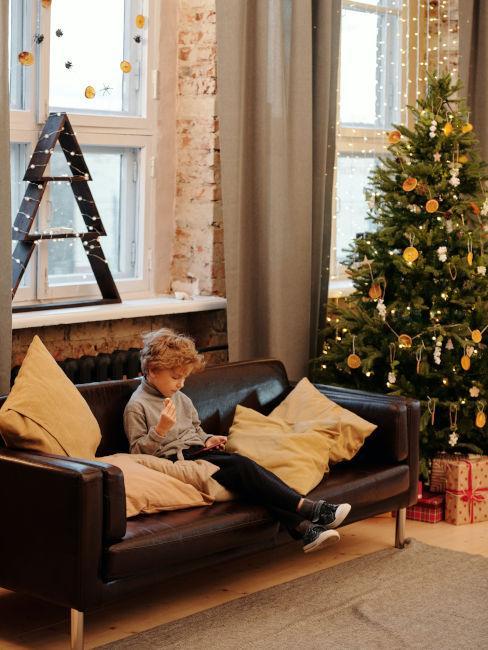 Decorazioni natalizie per finestre