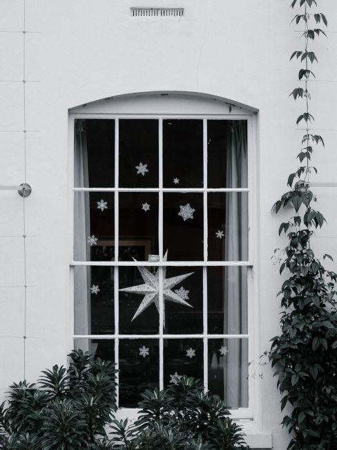 Adesivi invernali per finestre