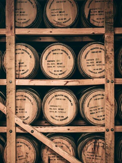 whiskey vaten