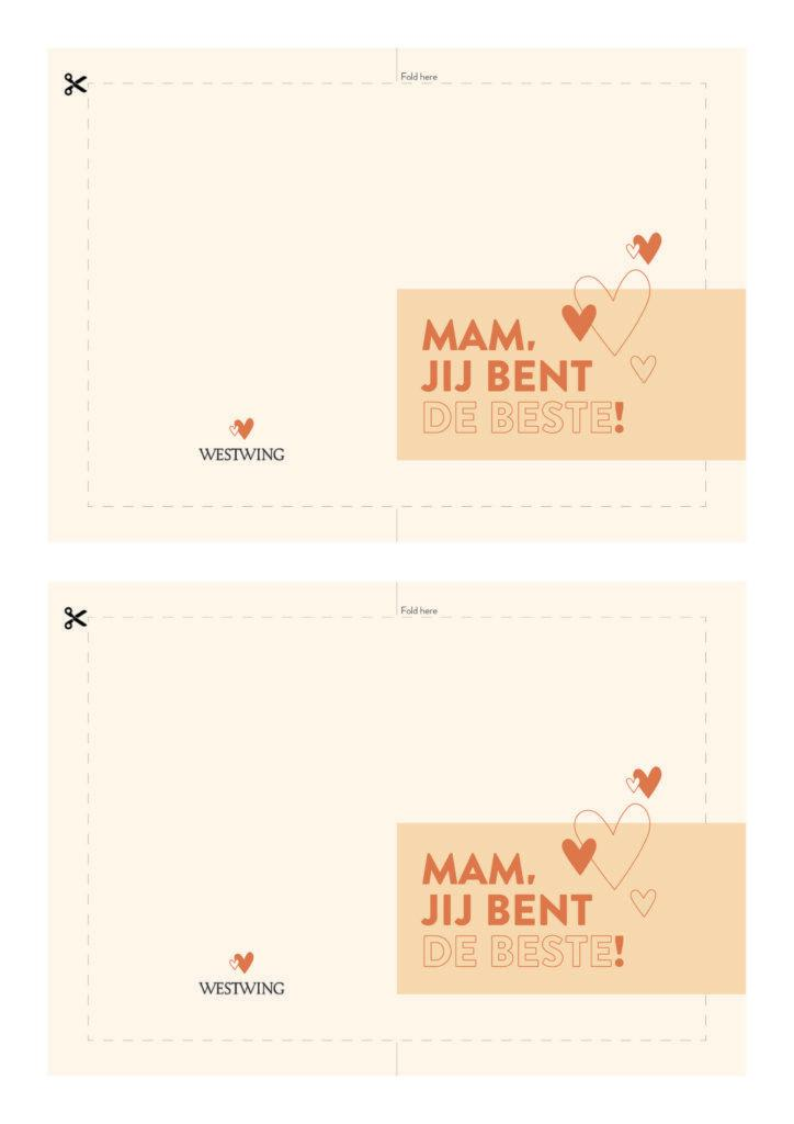 gratis Westwing moederdagkaart