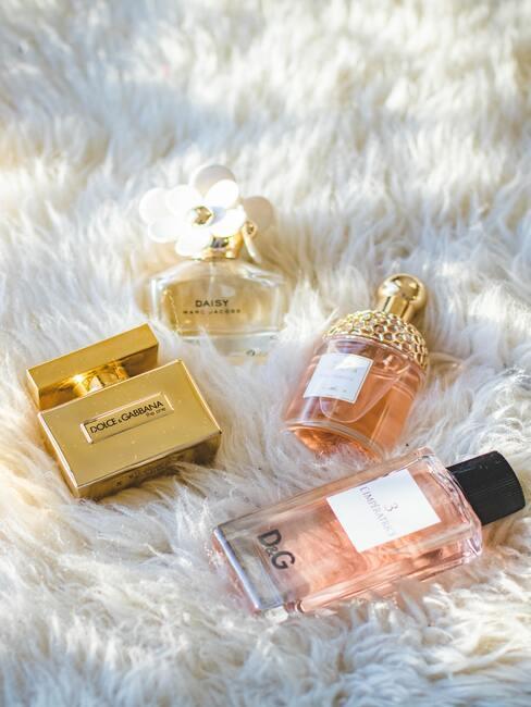 Geschenkidee voor vrouw, parfums, etherische oliën
