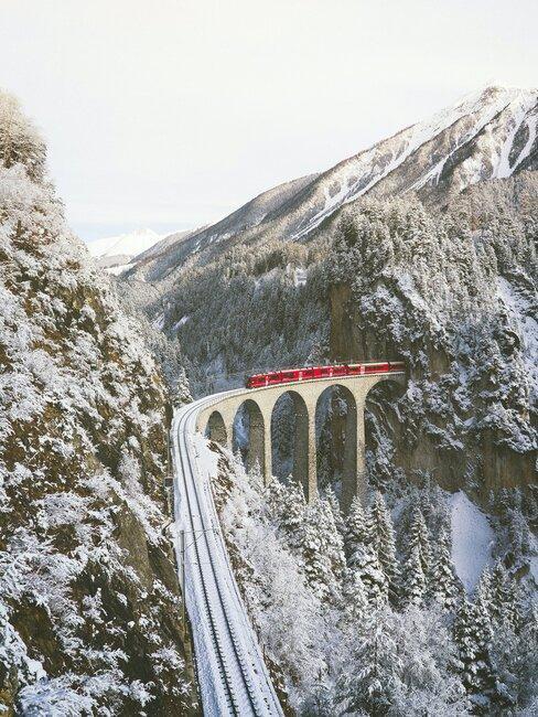 treinvakantie door Zwitserland
