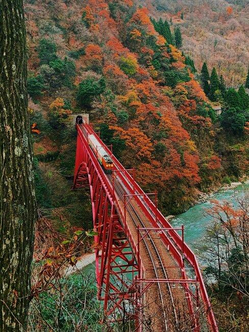 treinvakantie door Japan