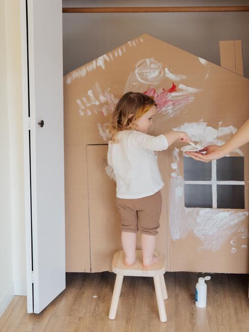 het inrichten van een kamer voor kinderen