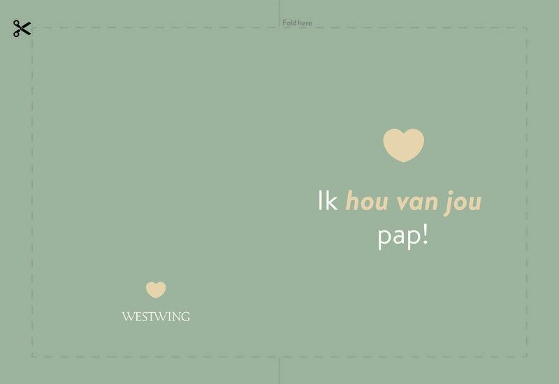 Westwing unieke vaderdagkaart