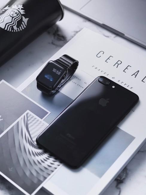 Kalender met iphone en iwatch