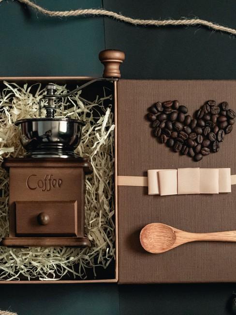 fijne vaderdag met koffie cadeau in giftbox