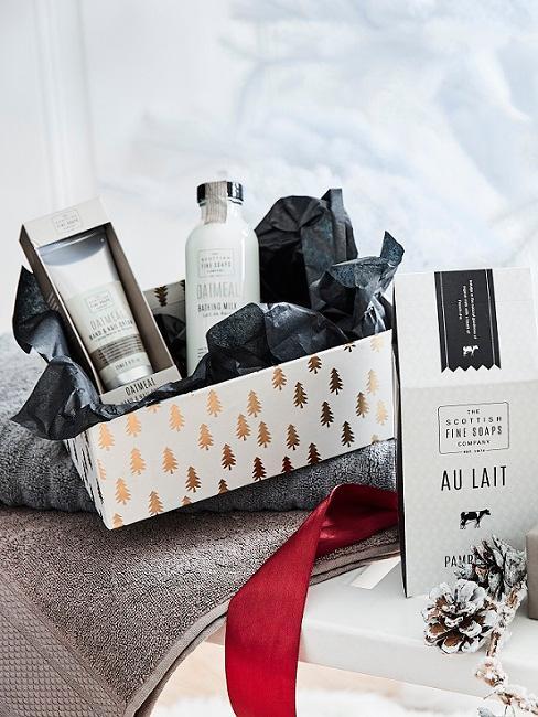 Cadeau set in giftbox