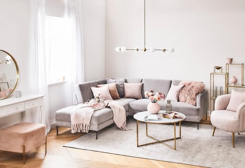 Romantische woonkamer