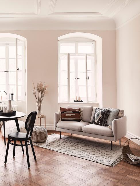 Mid century modern design woonkamer