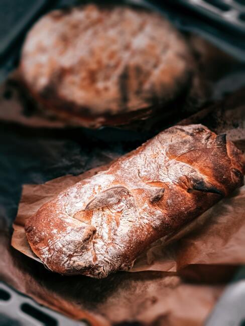 Voorgerechten kerst: vers gebakken brood