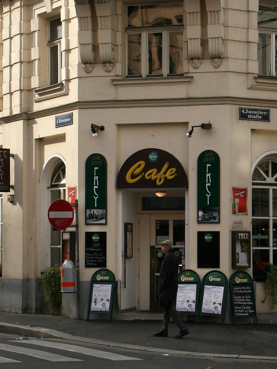 weens koffiehuis