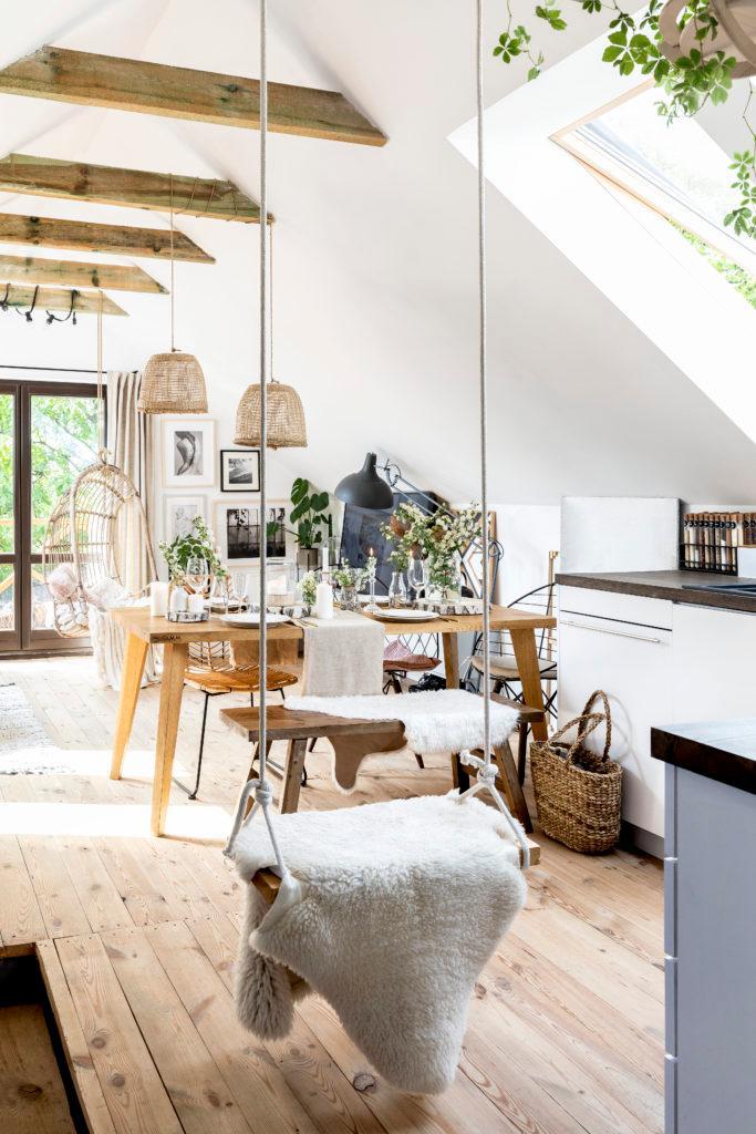 Keuken kopen tips: keuken in wit en hout kleur