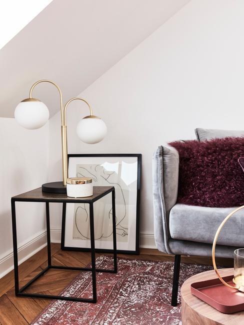 Ideeën voor het inrichten van een woonkamer in kleine maten